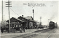 Marysville Rail Station in 1912