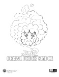 Crawl Under Smoke Coloring Page