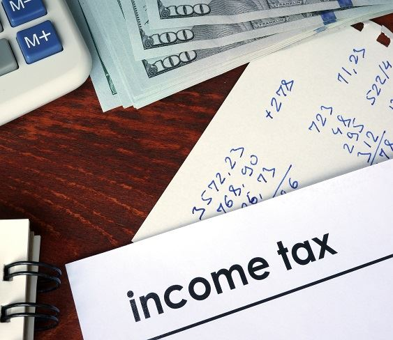 Photo of income tax related items