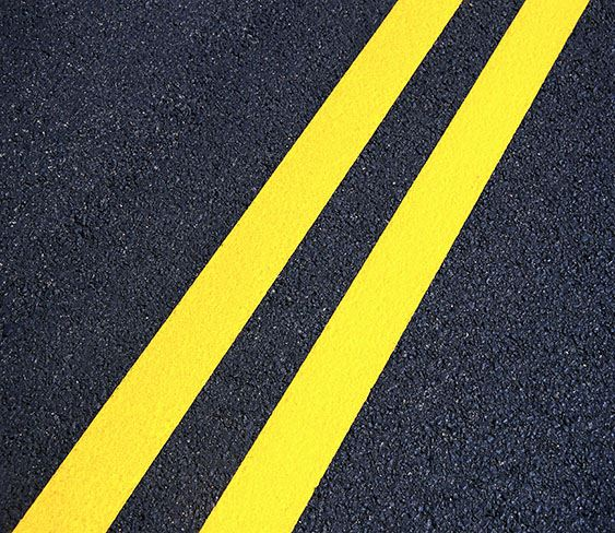 Painted Street Lines image