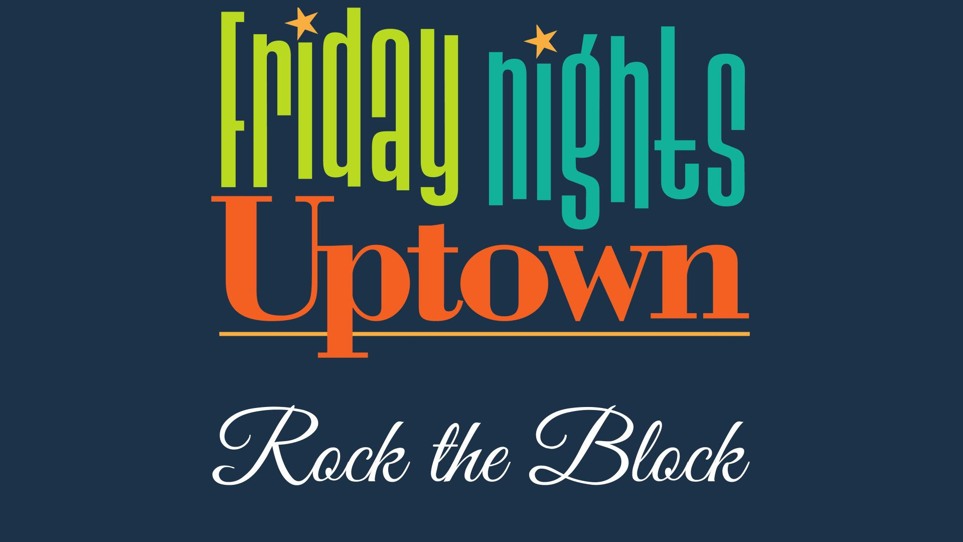 Friday Nights Uptown event image