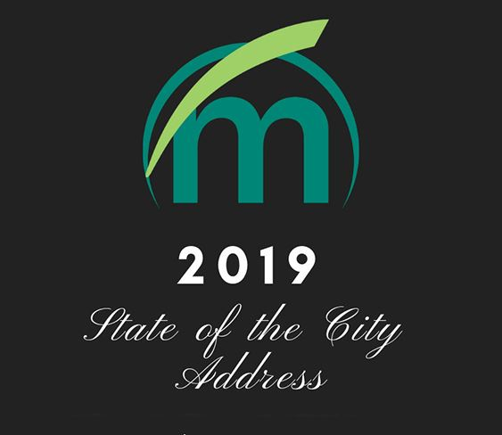 Image of 2019 State of the City Address in text