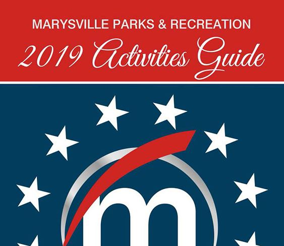 Image of front page of 2019 Activities Guide