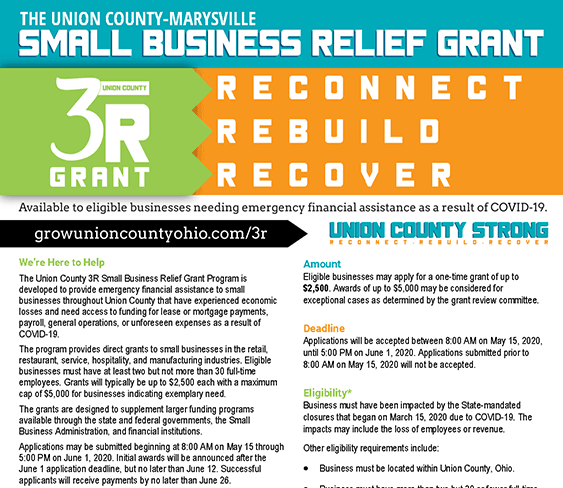 Image of logo for the Union County 3R Grant Program