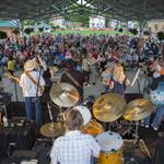 Photo of crowd enjoying McGuffey Lane